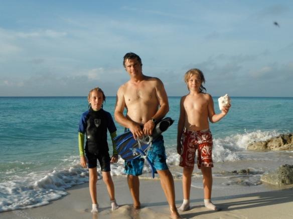 Snorkeling Bimini.