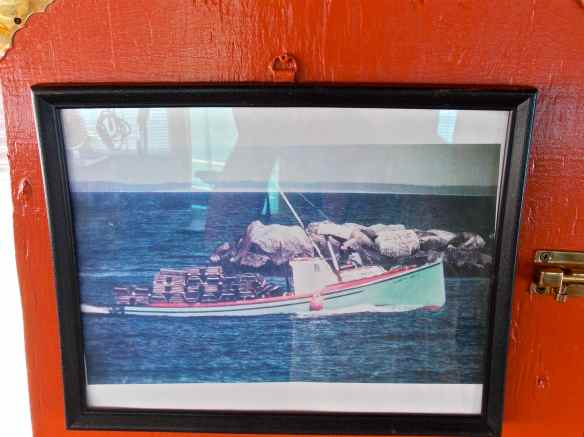 Picture of First Nanny when it was a lobster boat.