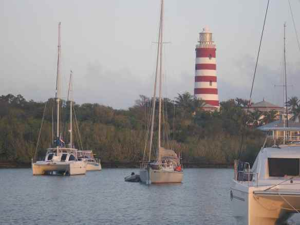 Hope Town lighthouse on Elbow Cay