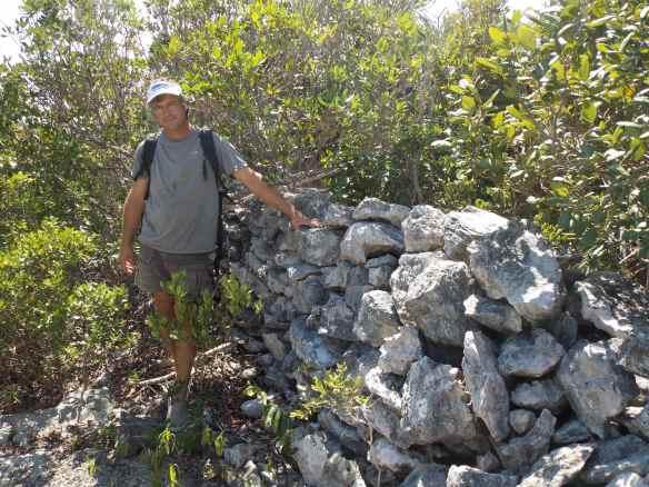 Miles of rock walls mark the boundaries of former plantations.