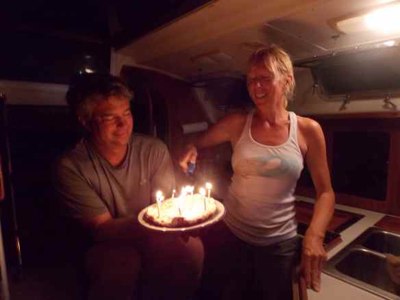 The un-birthday birthday 'cake'.