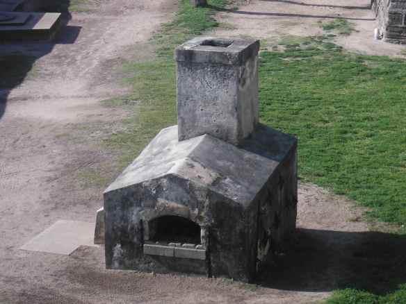 Shot furnace.