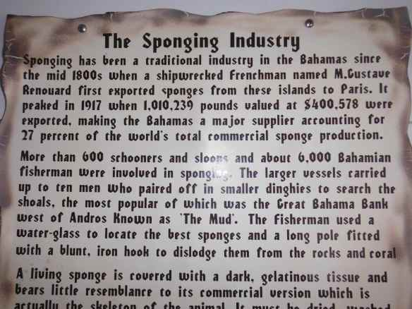 sponging