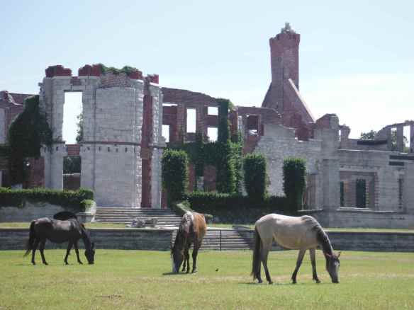 Ruins of Dungeness on Cumberland Island.