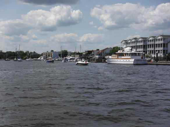 Coming in to port at Georgetown, SC.