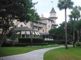 The famous Jekyll Island Club.