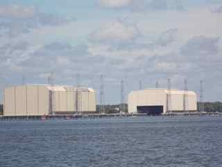 Navel submarine station we passed on the way to Jekyll Island.