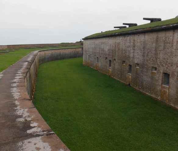 Fort Macon.