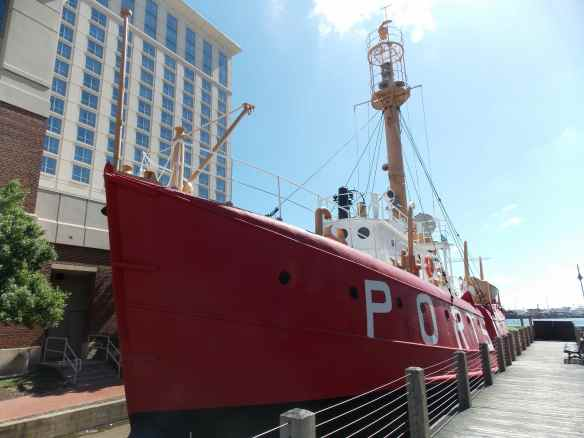 Portsouth Lightship Museum.