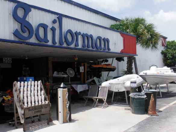 Sailorman, a gold mine of used sailing equipment!