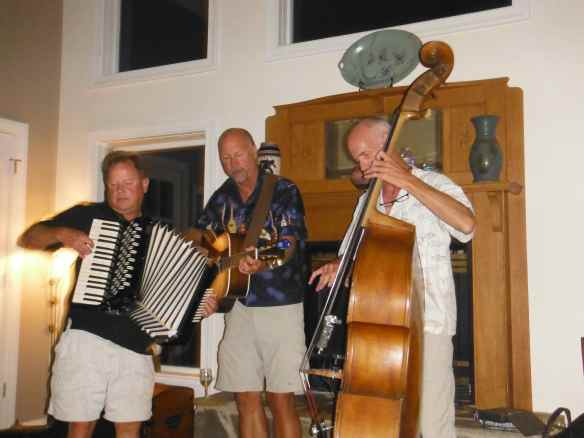 John playing accordion with the band.  You're never heard the accordion like John plays it.  Incredible!