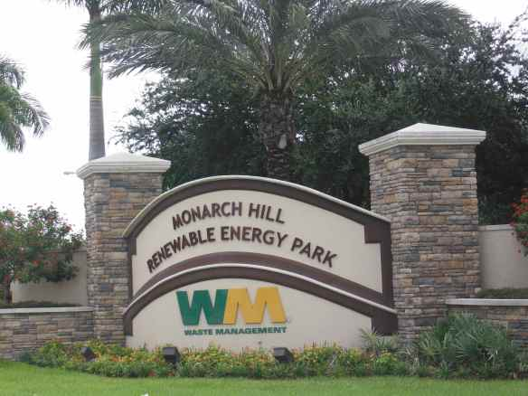 Florida's trash is turned into a mountain and they also make energy out of it.  Check it out.  http://monarchhill.wm.com