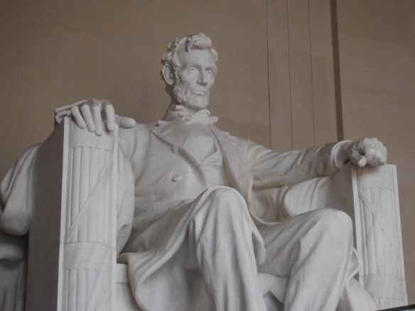 It was amazing to see the Lincoln Memorial in person.