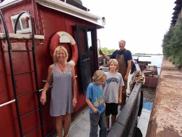 Lake Superior tugboat.